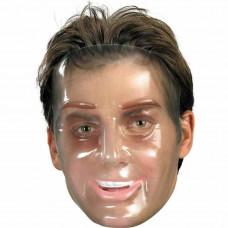 Transparent Young Man Mask