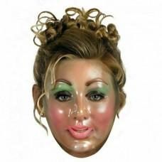 Transparent Young Woman Mask