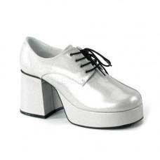 Platform Glitter Disco Shoes