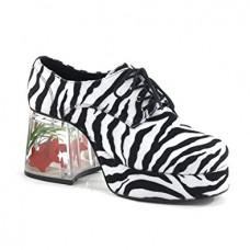 Platform Zebra Disco Shoes