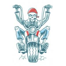 Biker Born To Ride Tattoo