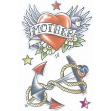 1950 Heart / Anchor Tattoo