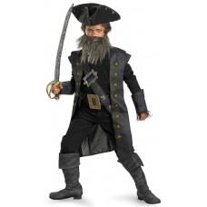 Black Beard Deluxe Costume