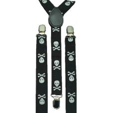 Skull Suspenders