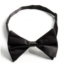 Large Satin Bow Tie