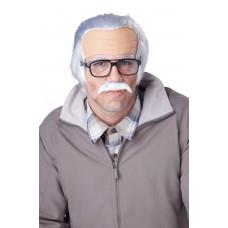Rude Grandpa Wig & Mustache