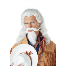 Buffalo Bill Wig & Beard Set