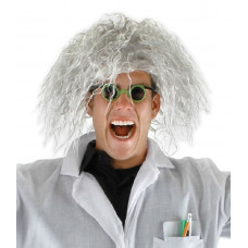 Mad Scientist Wig & Spectacles
