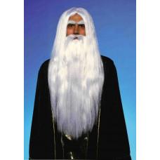 Merlin Wig & Beard Set