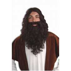 Biblical Beard & Wig Set