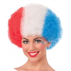 Patriotic Afro Wig