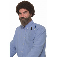 80's Wig and Beard