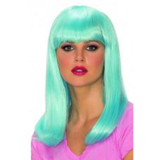 Blue Glow Babe Wig