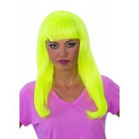 Yellow Glow Babe Wig
