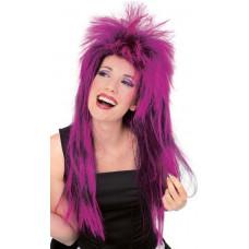 Neon Shag Wig