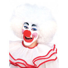 White Clown Wig