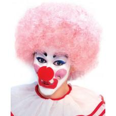Pink Clown Wig