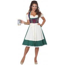 Bavarian Beer Maid Costume