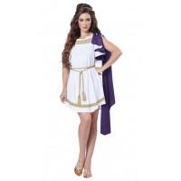 Grecian Toga Dress