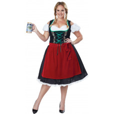 Oktoberfest Fraulein Plus Size Costume