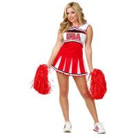 USA Club Cheerleader Costume