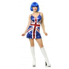 British Sequin Dress