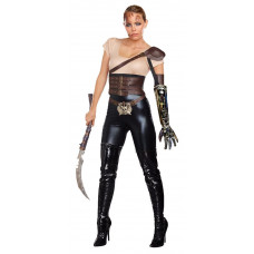 Road Rage Warrior Costume