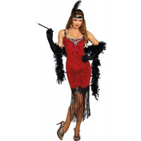 Ruby Red Flapper Costume