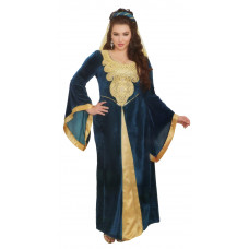 Medieval Maiden Plus Size Costume