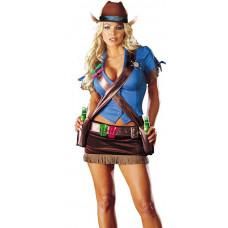 Shoot'em Up Cowgirl Costume