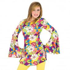 Flower Power Hippie Dress