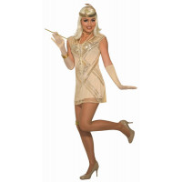 Beaded Flapper Costume