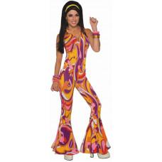 Funky Jumpsuit Lady Costume
