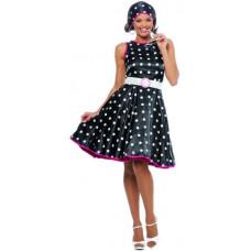 Hot 50s Black Dress