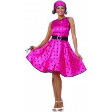 Hot 50s Pink Dress