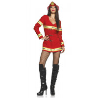 Red Hot Firefighter Costume