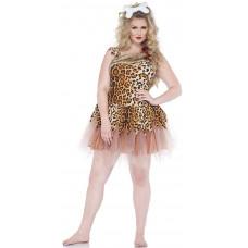 Cave Girl Cutie Plus Size Costume