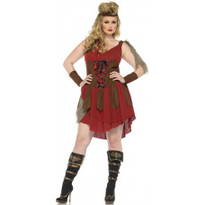 Deadly Huntress Plus Size Costume