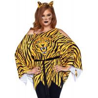 Tiger Poncho Set