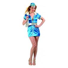 Fly-Away Stewardess Costume