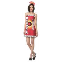Big Red Gum Dress Costume