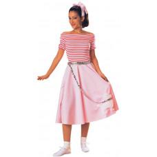 Retro Rock Cherry Anne Costume
